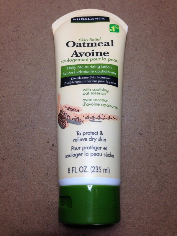Oatmeal Moisturizing Lotion