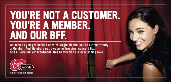 Virgin Mobile Member Benefits