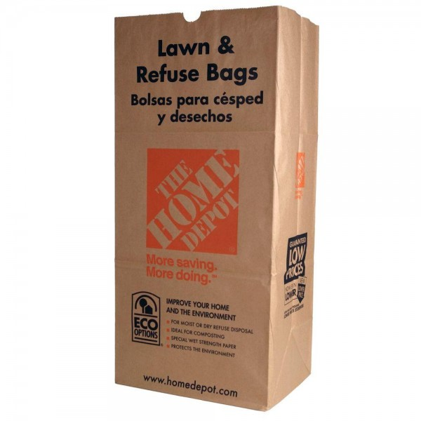 Home Depot Brown Paper Bag